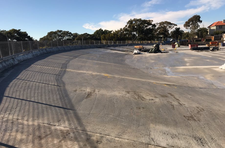 Hordern Oval preparation - awaiting the soil and turf.
