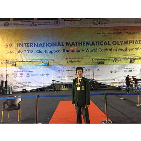 Gold Medal at the International Mathematical Olympiad 2018