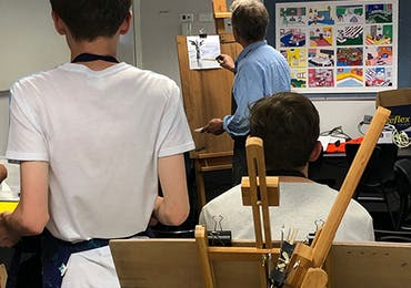 Year 10 Visual Arts Landscape Workshop - Term 1 2019